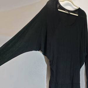 BCBGMAXAZRIA Casual Dress Size L Long Sleeve
